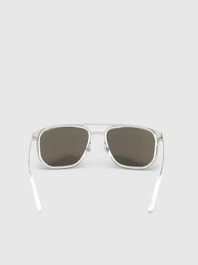 Diesel - DL0294, White/Black - Sunglasses - Image 4