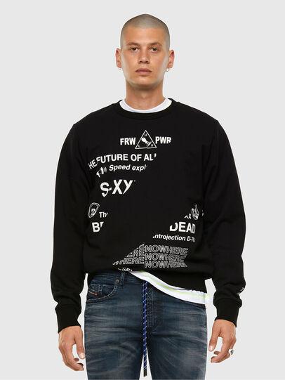 Diesel - S-GIRK-FOLDED, Black - Sweaters - Image 5