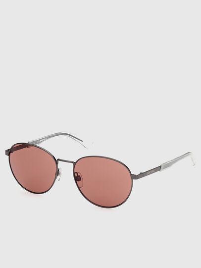 Diesel - DL0355, Black/Red - Sunglasses - Image 2