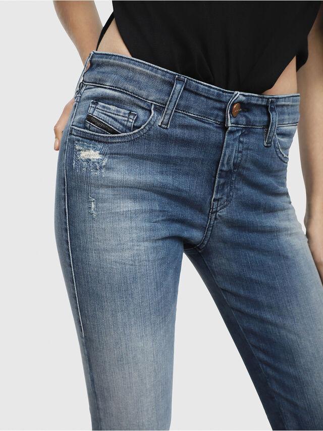 Diesel Slandy 084MU, Medium blue - Jeans - Image 3