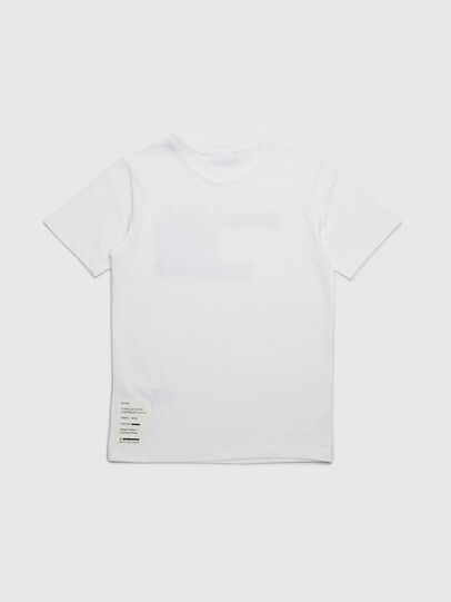 Diesel - TJUSTYP, White - T-shirts and Tops - Image 2