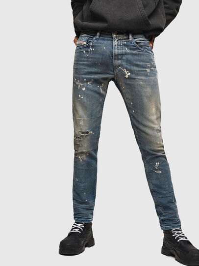 Diesel - Thommer JoggJeans 0870X, Medium blue - Jeans - Image 1