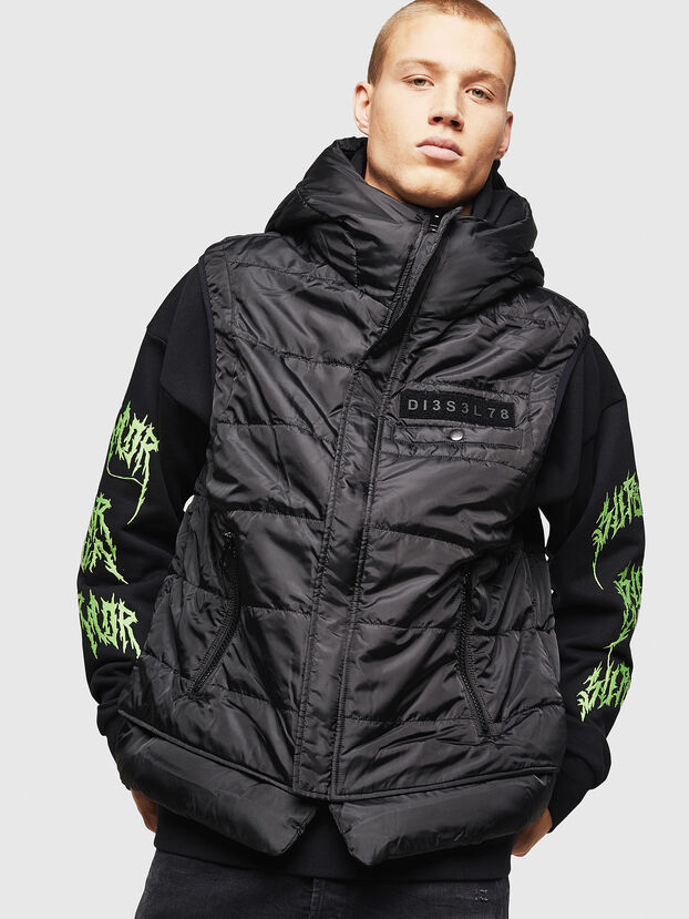 W-SUN-REV-SLESS,  - Winter Jackets