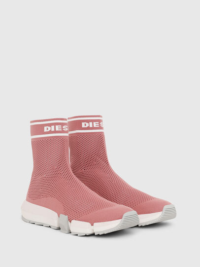 Diesel - H-PADOLA NET W, Pink - Sneakers - Image 2