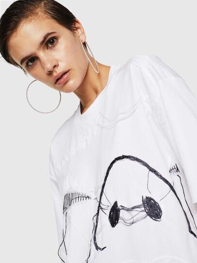 Diesel - TELIX, White - T-Shirts - Image 4