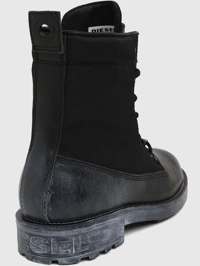 Diesel - D-THROUPER DBBZ, Black - Boots - Image 5