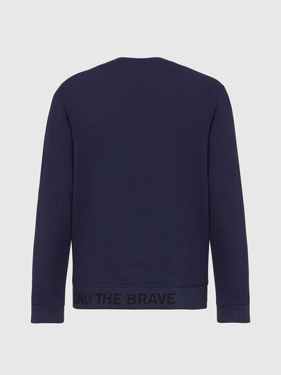 Diesel - S-PEWTER, Dark Blue - Sweaters - Image 3