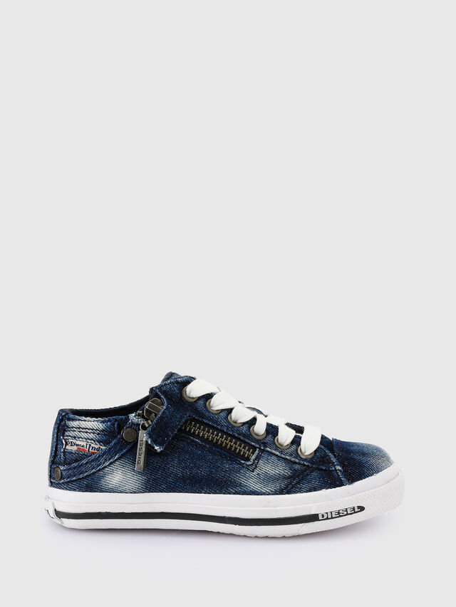 Diesel - SN LOW 25 DENIM EXPO, Blue Jeans - Footwear - Image 1