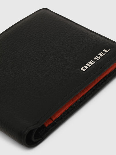 Diesel - HIRESH S, Black/Orange - Small Wallets - Image 4