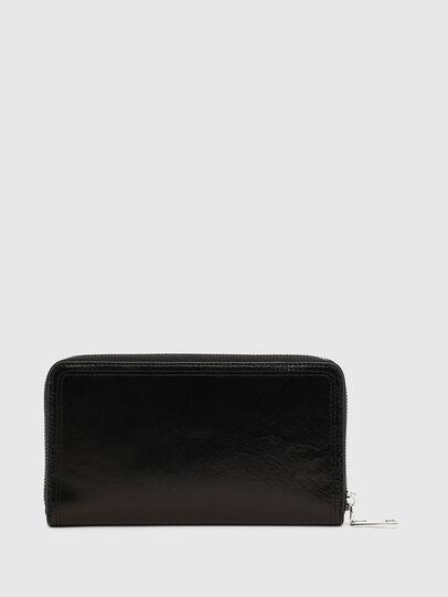 Diesel - GRANATO LC, Black - Zip-Round Wallets - Image 2