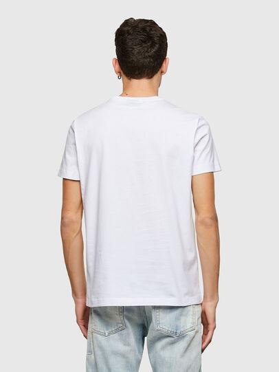 Diesel - T-DIEGOS-LAB, White - T-Shirts - Image 2