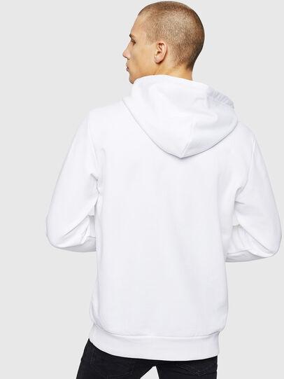 Diesel - S-GIR-HOOD-DIVISION, White - Sweaters - Image 2