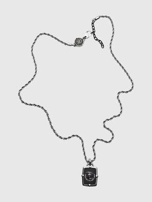 DX1174, Silver/Black - Necklaces