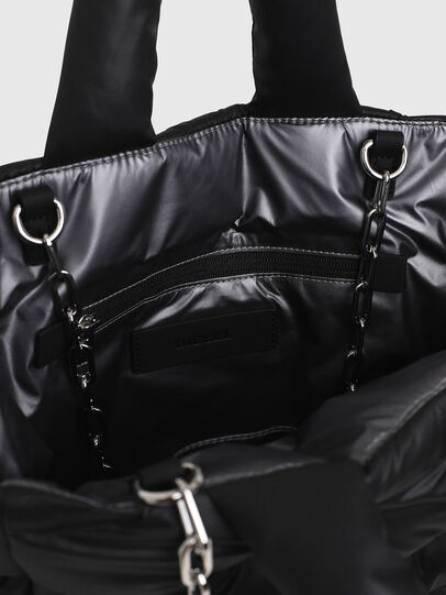 Diesel - KESSIE, Black - Shopping and Shoulder Bags - Image 4