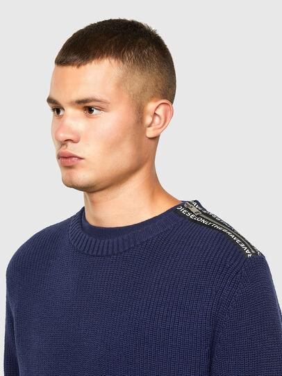 Diesel - K-GILLING, Blue - Knitwear - Image 3