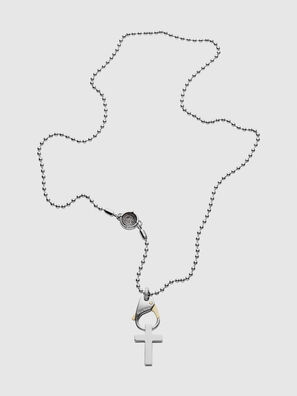 DX1149, Silver/White - Necklaces