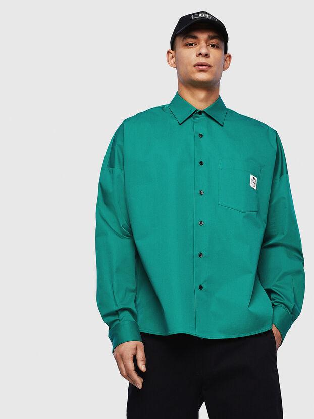 S-LOOMY, Green - Shirts