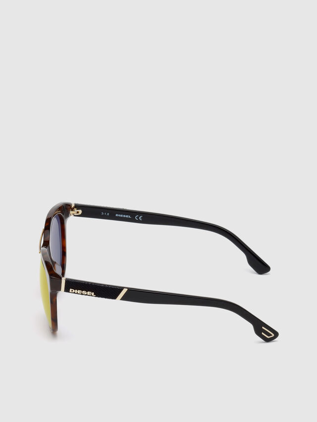 Diesel - DL0213, Brown - Sunglasses - Image 3