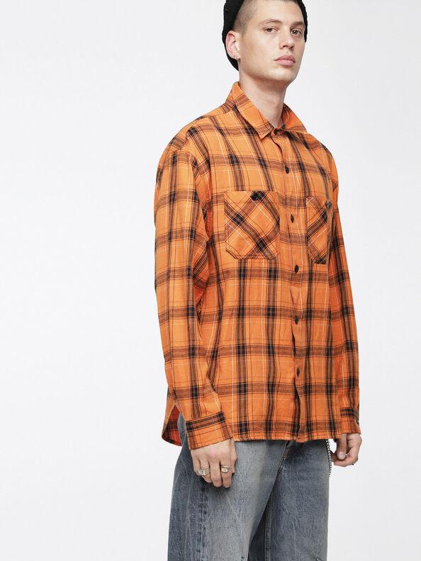 S-OIZE, Orange/Black - Shirts
