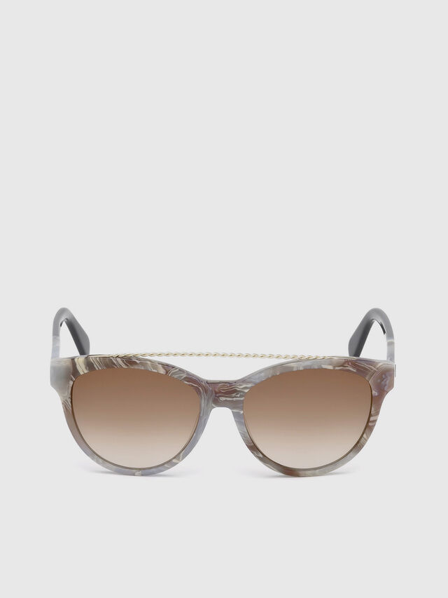 Diesel - DM0189, Grey - Sunglasses - Image 1