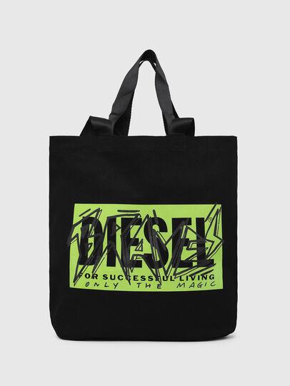 Diesel - LYVENZA, Black/Green - Shopping and Shoulder Bags - Image 1
