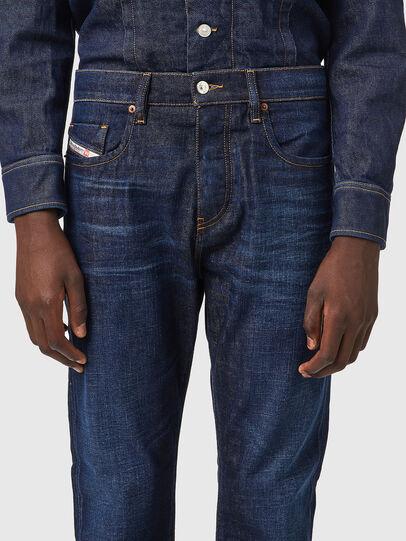Diesel - D-Viker 09A12, Dark Blue - Jeans - Image 3