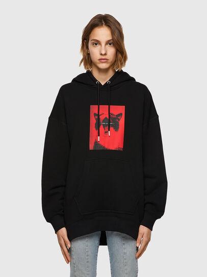 Diesel - F-GULLY-HOOD, Black - Sweaters - Image 1