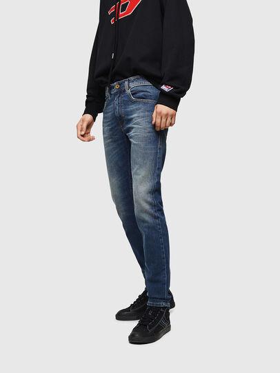 Diesel - Thommer 089AR, Dark Blue - Jeans - Image 4