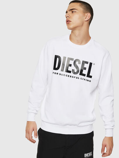 Diesel - S-GIR-DIVISION-LOGO,  - Sweaters - Image 1