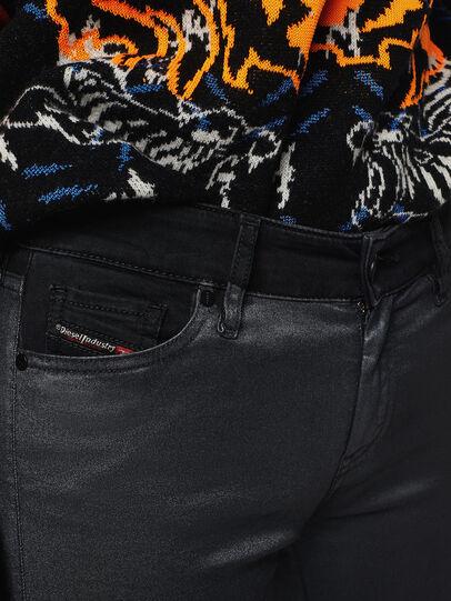 Diesel - Slandy Zip 069GF, Black/Dark grey - Jeans - Image 3