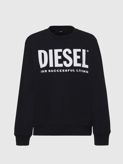 Diesel - F-ANG, Black/White - Sweaters - Image 1