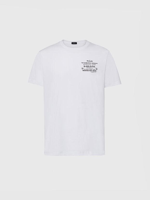 T-DIEGOS-X44, White - T-Shirts