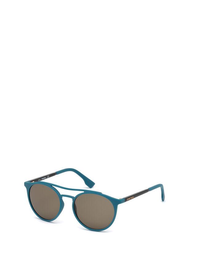 Diesel - DM0195, Blue - Eyewear - Image 4