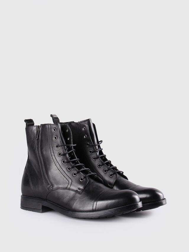 Diesel - D-KALLIEN, Black Leather - Boots - Image 2
