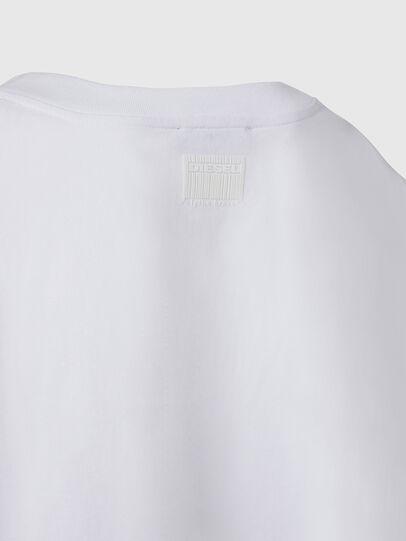 Diesel - T-CRAMBLE, White - T-Shirts - Image 4