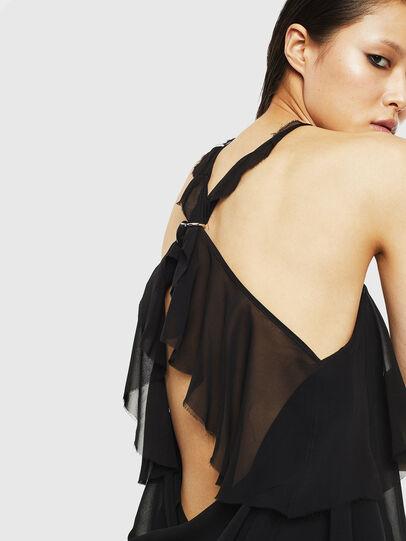 Diesel - D-FREY, Black - Dresses - Image 3