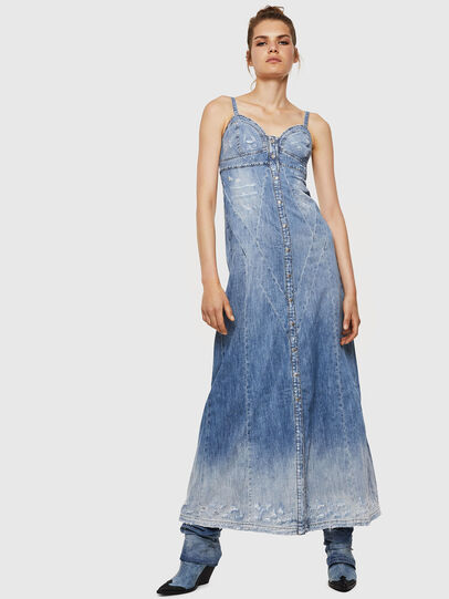 Diesel - DE-ARIN, Light Blue - Dresses - Image 1