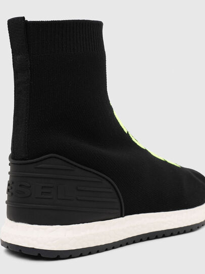 Diesel - SLIP ON 04 MID SOCK, Black - Footwear - Image 5