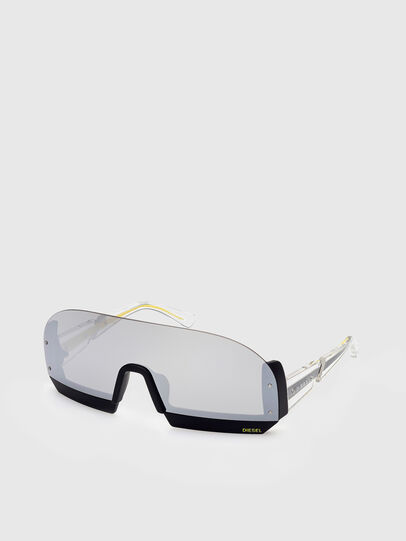 Diesel - DL0336, White - Sunglasses - Image 2