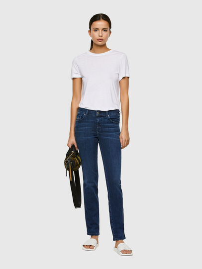 Diesel - Sandy 009QI, Dark Blue - Jeans - Image 5