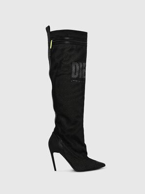 D-SLANTY HOTK Z, Black - Boots