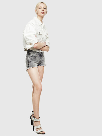 Diesel - DE-CATY, White - Denim Jackets - Image 6