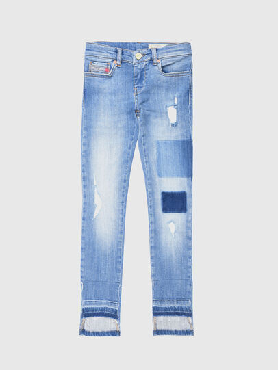 Diesel - SKINZEE-LOW-J-N, Light Blue - Jeans - Image 1