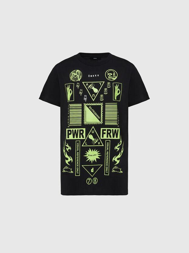 T-DARIA-E31, Black - T-Shirts