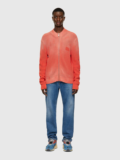 Diesel - K-KENTUCKY ZIP, Pink - Knitwear - Image 5