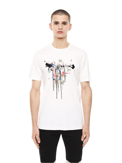 Diesel - TY-DRIPPING,  - T-Shirts - Image 1