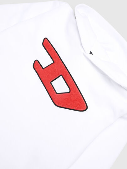 Diesel - SDIVISION-D OVER, White - Sweaters - Image 3