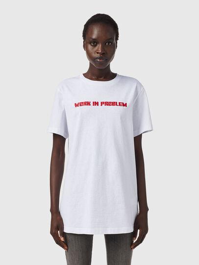 Diesel - T-DARIA-B2, White - T-Shirts - Image 1