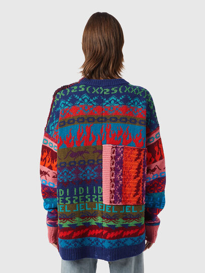 Diesel - M-VIVYAN, Red/Pink - Knitwear - Image 2
