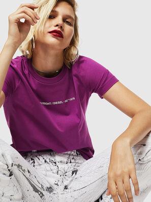 T-SILY-COPY, Violet - T-Shirts
